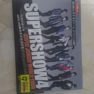 DVD Supershow4 Super Junior World Tour