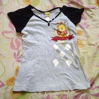Gray Tweety Bird Shirt