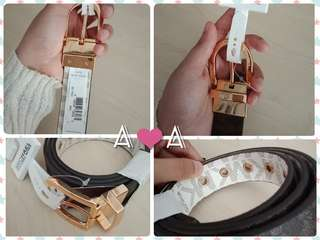 MK twist reversible belt ORIGINAL