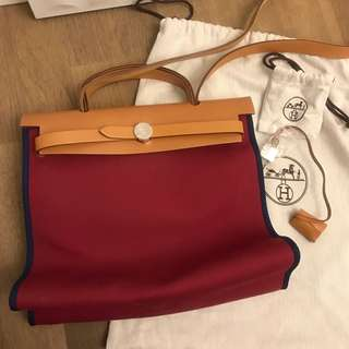 Hermes Herbag 31 Canvas (New!)