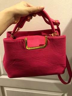 Authentic Leather Sling Bag from Japan