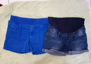 Maternity Short Pants (2pcs)