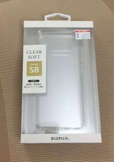 Galaxy S8 Clear Soft Case 日本手機殼