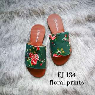 EJ134 Floral Print | Marikina Sandals