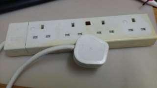 13A拖板一1去4 Power bar 13A