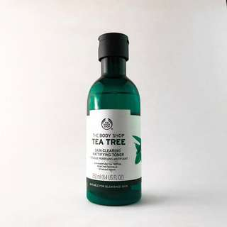 The Body Shop Tea Tree Skin Clearing Mattifying Toner 250 mL