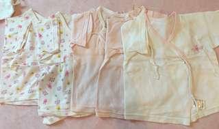 初生兒和尚袍 newborn baby bodysuit