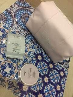 🚚 Dior粉紅肌粹氣墊粉餅補充包