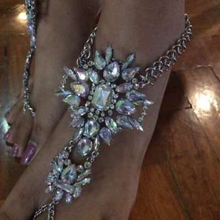 Barefoot sandals anklet feet accessories