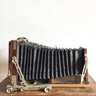Vintage Wooden 4x5 Large Format Field Camera (LFC_02-0717-15)