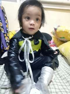 batman costume for 1 to 2 yrs old baby..