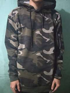 Sweater Hoodie Oblong Army