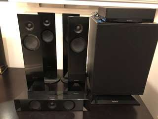 Speakers for Sony blue ray player BVD-N7100W