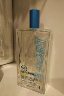 The Body Shop White Musk Sport EDT Pour Homme