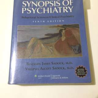 Synopsis of Psychiatry 10th edition