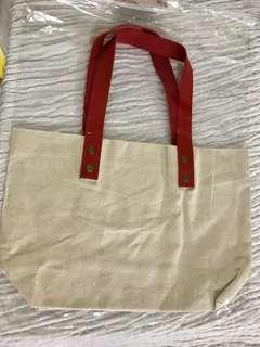 Mini Canvas Tote Bag