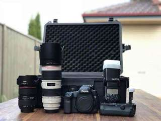 Canon 5D Mark iii with lenses other