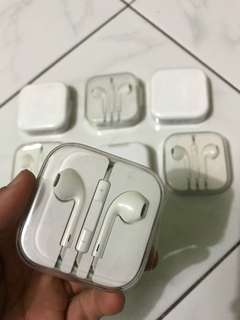 Earphone Headset Iphone ori cabutan Apple Ibox bukan OEM