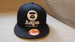 Aape by a bathing ape cap 100%正版