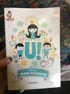 Buku Novel U