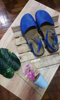 Leather Blue Sandals