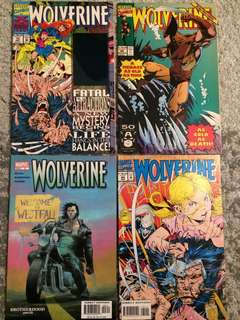 Wolverine comic lot sale!