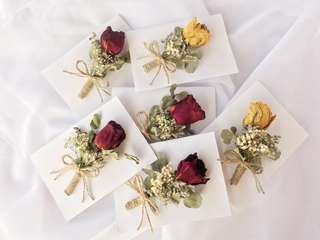 Dried flower card/ gift card