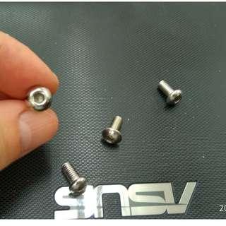 5mm Screw for water bottle rack / disk brake