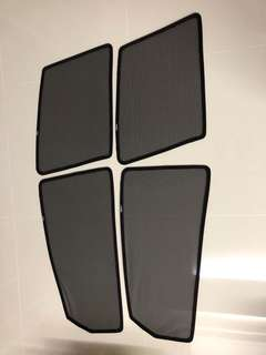 Nissan sylphy magnetic sunshades