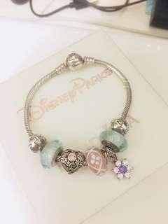 Pandora bracelet with disney charm
