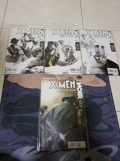 Authentic x men marvel noir
