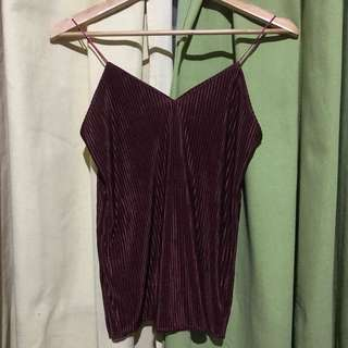 Pleated Top 2