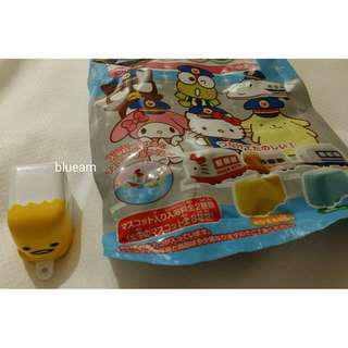 [日本限定] 蛋王哥巴士 Sanrio Bus Salt Bath Bom Train Mascot - Gudetama