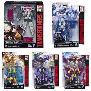 TRANSFORMERS POWER OF THE PRIMES TERRORCONS SET SALE