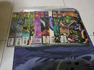 Authentic green goblin comic