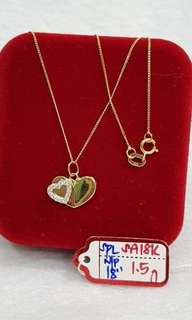 Pawnable gold necklace for women