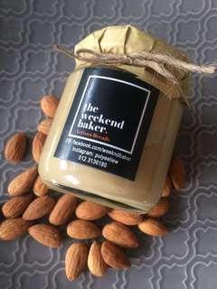 100% Natural Almond Butter Zero Preservatives