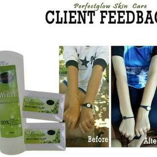 Instant Whitening lotion (feedback)