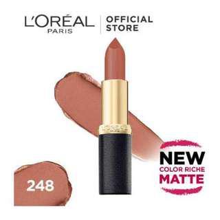 Loreal Color Rich Matte Lipstick