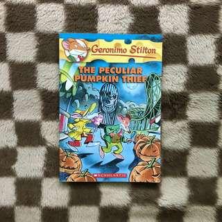 The Peculiar Pumpkin Thief by Geronimo Stilton