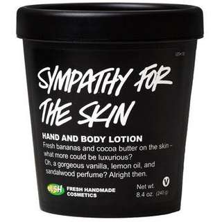 Sympathy for the Skin Body Lotion (LUSH)