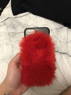 Bardot fur cover iPhone 6/6s/7/7s