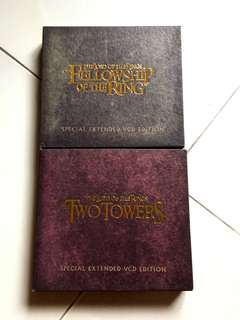 Lord of the Rings VCD