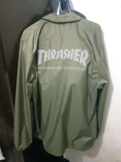 coach jaket thrasher