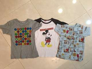 Uniqlo Disney 史努比140cm大童棉衣3件一起賣180