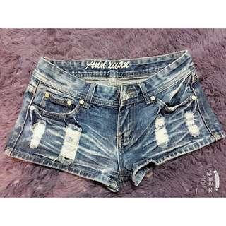 🚚 牛仔低腰短褲👀💓