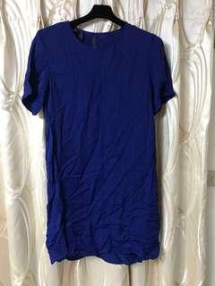 Mango深藍色洋裝