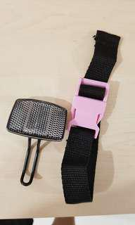 Brompton Reflector and bike strap