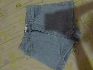 High waist shortpants   Short pants HW   celana pendek jeans