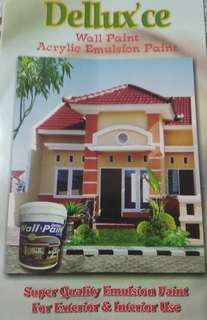 Cat Tembok DELLUX WALL PAINT ISI 20kg